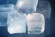 Cubetti di ghiaccio Fotografie Stock