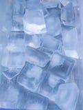 Cubetti di ghiaccio Immagini Stock