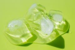 Cubetti di ghiaccio Fotografia Stock Libera da Diritti