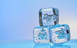 Cubetti di ghiaccio Immagine Stock