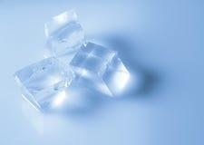 Cubetti di ghiaccio lisci Fotografia Stock Libera da Diritti
