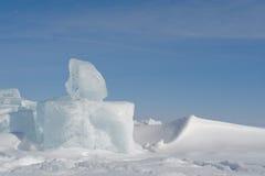 Cubetto di ghiaccio Immagini Stock