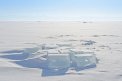 Cubetto di ghiaccio Fotografie Stock Libere da Diritti