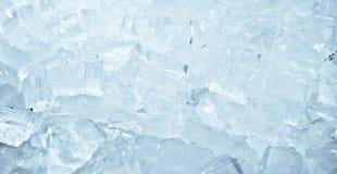 Cubetto di ghiaccio come fondo Fotografia Stock