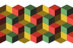 Cubi Fotografie Stock
