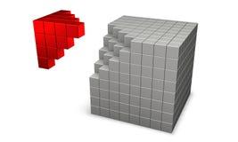cubi 3d Fotografie Stock Libere da Diritti