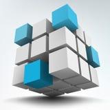 cubi 3d Fotografie Stock