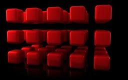 Cubi astratti Fotografie Stock Libere da Diritti