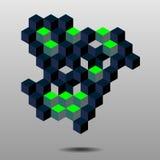 Cubi astratti illustrazione vettoriale