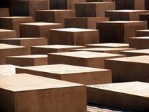 Cubi astratti del cemento Immagini Stock