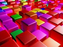 Cubi colorati royalty illustrazione gratis
