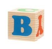 Cubi con le lettere Fotografie Stock Libere da Diritti