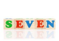 Cubi con le lettere Fotografia Stock Libera da Diritti