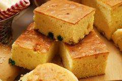 Cubi del pan di Spagna Fotografia Stock