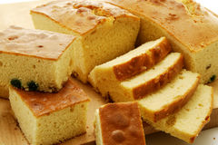Cubi del pan di Spagna Fotografia Stock Libera da Diritti