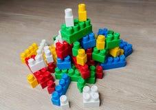 Cubi del progettista del ` s dei bambini Fotografia Stock