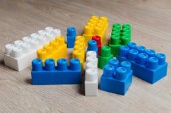 Cubi del progettista del ` s dei bambini Immagini Stock