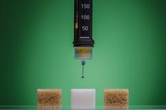Siringa dell 39 insulina immagine stock immagine di medico for Cabina dell orso dello zucchero