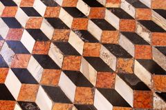 cubi delle mattonelle 3d Fotografie Stock