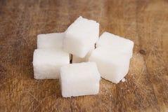 Cubi dello zucchero Fotografia Stock