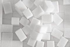 Cubi dello zucchero Immagini Stock Libere da Diritti