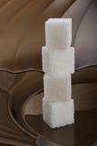 Cubi dello zucchero Immagine Stock Libera da Diritti