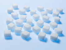 Cubi dello zucchero Fotografie Stock