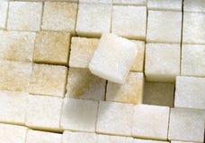 Cubi dello zucchero fotografia stock libera da diritti