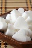 Cubi dello zucchero di figura del ponticello Fotografia Stock Libera da Diritti