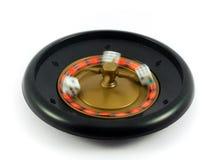 Cubi di filatura delle roulette di gioco Fotografia Stock Libera da Diritti