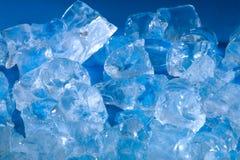 Cubi di ghiaccio Fotografia Stock