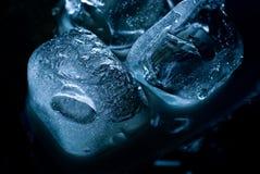 Cubi di ghiaccio Fotografia Stock Libera da Diritti