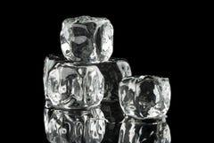 Cubi di ghiaccio Immagine Stock