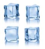 Cubi di ghiaccio di fusione Fotografia Stock Libera da Diritti