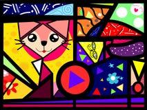 Cubi-Katze Stockbilder