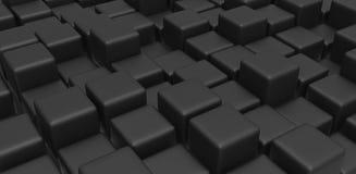 Cubi neri Fotografia Stock Libera da Diritti