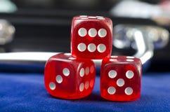 Cubi rossi Fotografie Stock
