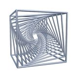 Cubi a spirale illustrazione di stock