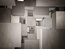 Cubi-Zusammenfassung stock abbildung