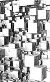 Cubic background Stock Photo