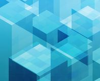 Cubic blocks Royalty Free Stock Image