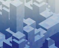 Cubic blocks Stock Photo