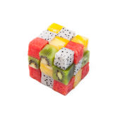 Cubic fruit Stock Photo