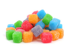 Cubic gumdrops Royalty Free Stock Photo