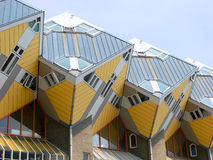 Cubic Houses. The famous cubic houses in Rotterdam, Netherlands Royalty Free Stock Image