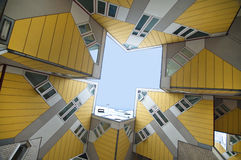 Cubic Houses. Famous Cubic Houses of Rotterdam, designed by Piet Blom Royalty Free Stock Photography