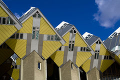 Cubic houses in Rotterdam Stock Images