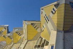 Cubic houses. In Rotterdam Stock Image