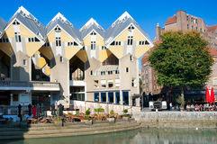 Cubic houses at Rotterdam - Netherlands Stock Photo