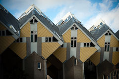 Cubic houses. In Rotterdam, The Netherlands Stock Images